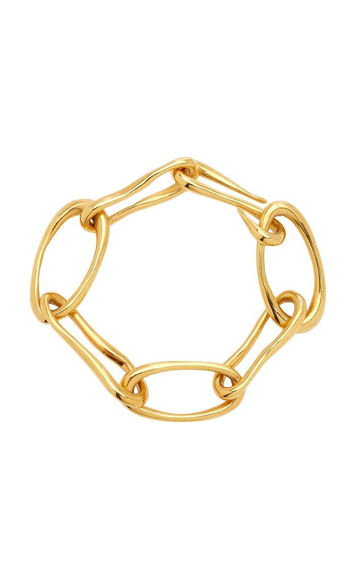 18k Gold Vermeil XL Roman Chain Bracelet