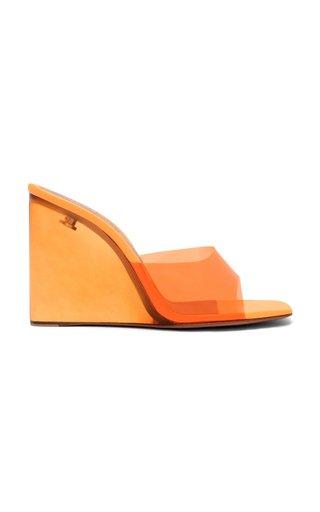 Lupita PVC Wedge Sandals