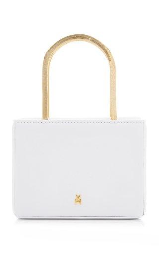 Super Amini Henson Leather Top Handle Bag