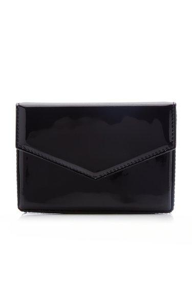 Super Amini Johana Patent Leather Clutch