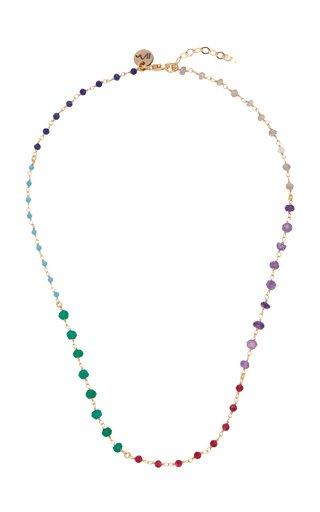 Beaded Spectrum Necklace