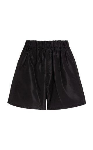 Silk Logo Shorts