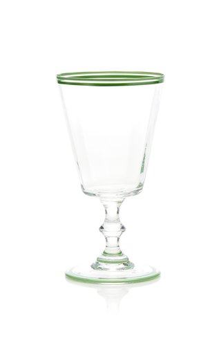 Hand-Painted Double Rim Water Glass