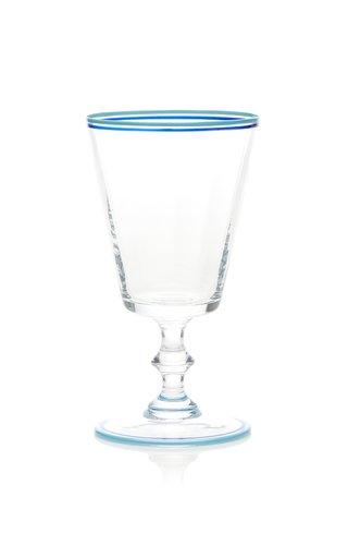 Painted Water Glass