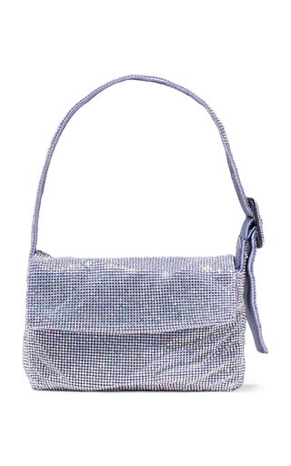 La Vitty Mignon Crystal-Embellished Shoulder Bag
