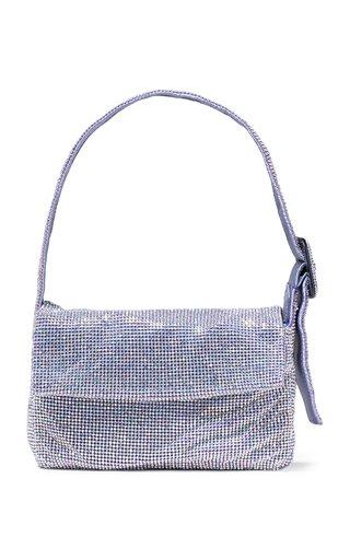 La Vitty Mignon Crystal-Embellished Shoulder Bag