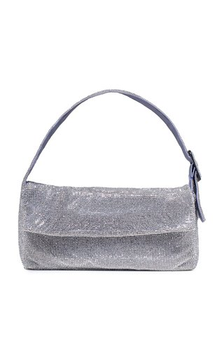 La Vitty Crystal-Embellished Shoulder Bag