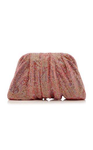 La Petite Venus Crystal-Embellished Clutch