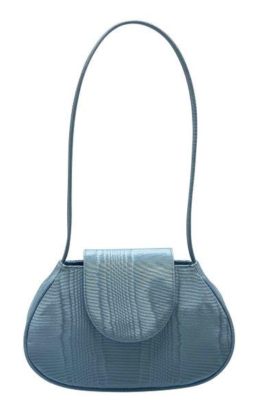 Ineva Baguette Moiré Shoulder Bag