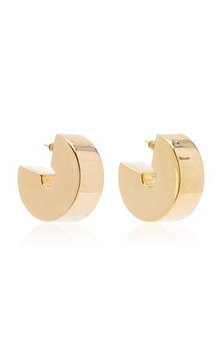Swash Gold-Vermeil Hoop Earrings