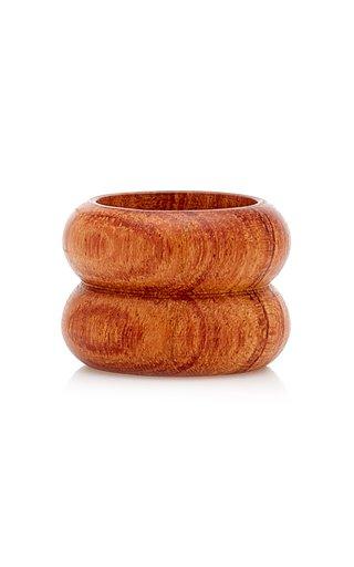 Semibreve Wooden Ring
