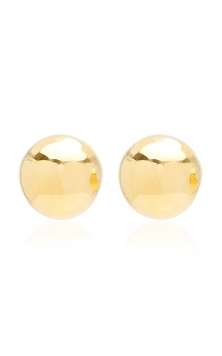 Ample Gold-Plated Earrings