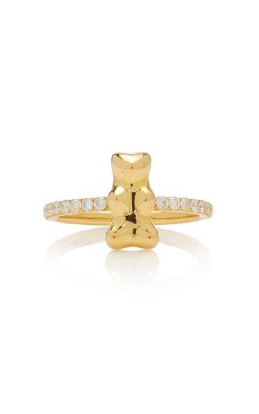 Gummy Bear 18K Yellow Gold Diamond Ring