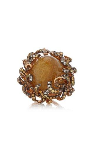 Foliage 18K Rose Gold Multi-Stone Ring