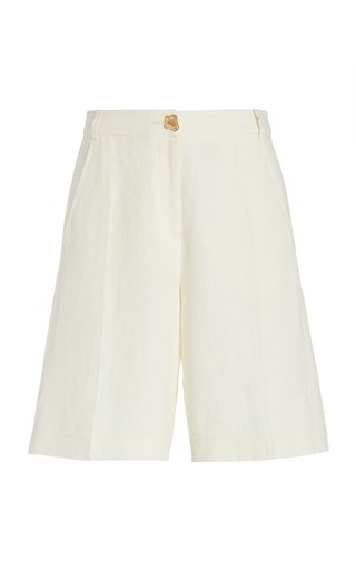 Riley Linen Bermuda Shorts