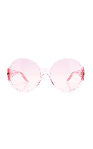 Acetate Round Frame Sunglasses