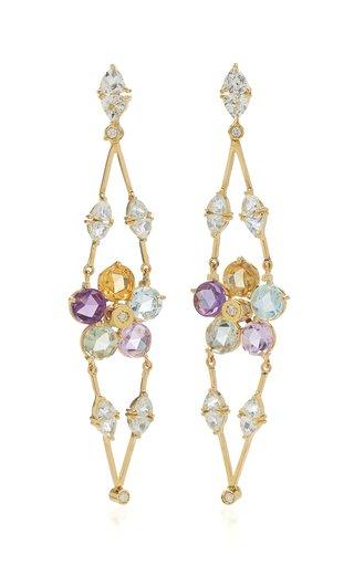 Venezia 18K Yellow Gold Multi-Stone Earrings
