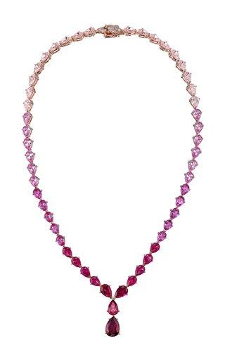Nova 18K Rose Gold Multi-Stone Necklace