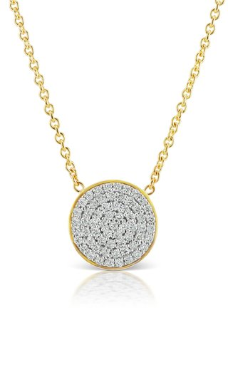 Soleil 18K Yellow Gold Diamond Necklace