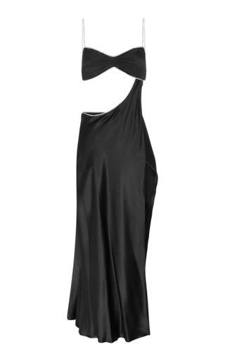 Symic Cutout Crystal-Embellished Dress