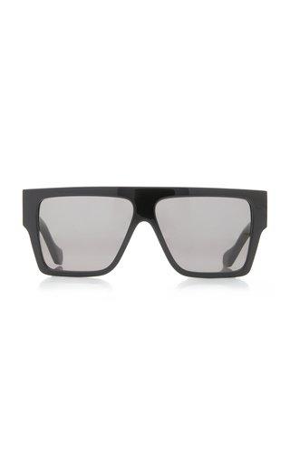 Lazer Square-Frame Acetate Sunglasses