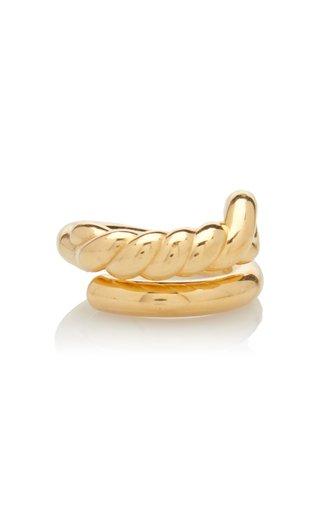 Twist 18K Gold-Vermeil Ring