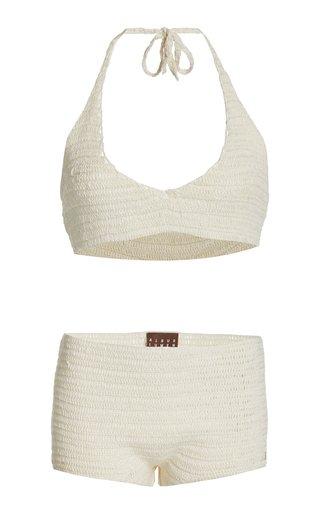 Crochet Knit Bikini Set