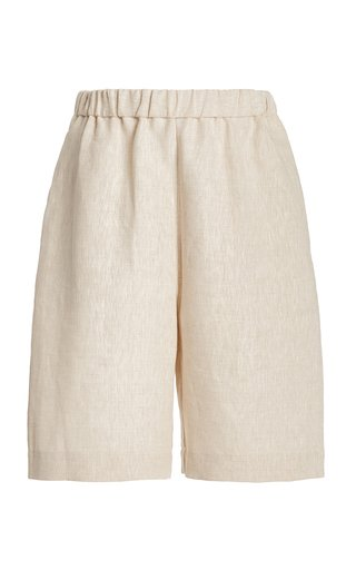 Mare Linen Boy Shorts