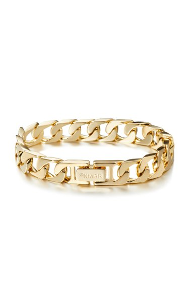 14K Gold-Plated Sharpen Chain Bracelet