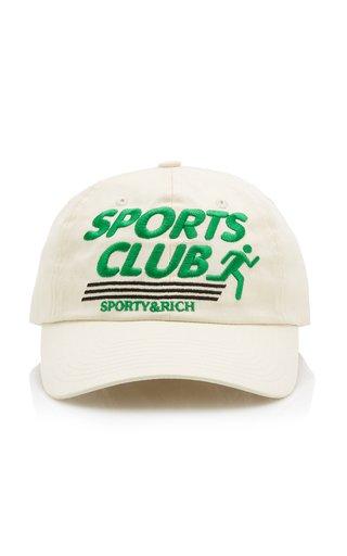 Sports Club Cotton Baseball Cap