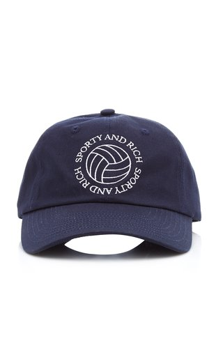 Volleyball Embroidered Cotton Hat