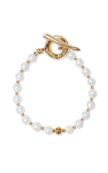Pearl & Ball Bracelet