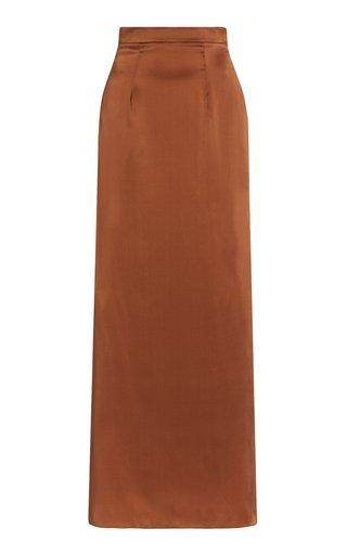 Rumi Silk Maxi Skirt