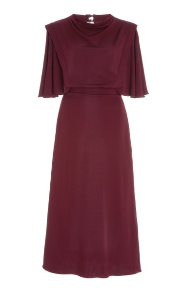 Miranda Crepe Midi Dress