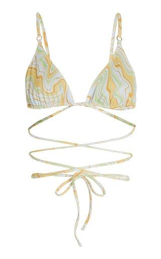 Talise Printed Bikini Top