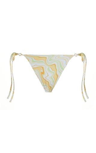 Talise Printed Bikini Bottom