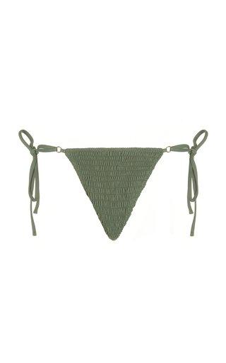 Talise Smocked Bikini Bottoms