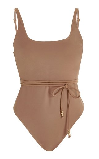 Giselle Belted One-Piece Swimsuit