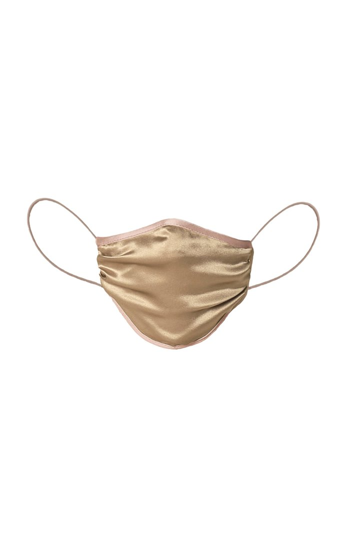 Exclusive Kate Is Wearing Satin-Lined Silk Charmeuse Face Mask