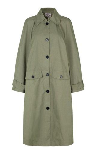 Denelia Gabardine Trench Coat