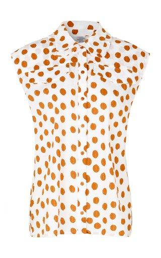 Mukunda Polka-Dot Cotton Shirt