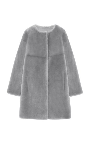 The Tempest Reversible Shearling Coat