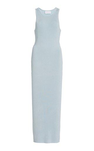Sofia Cutout Ribbed-Knit Midi Dress