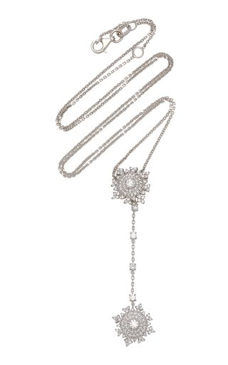 Petite Tsarina Detachable 18K White Gold Long Necklace