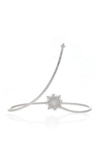 Petite Tsarina 18K White Gold and Topaz Bracelet
