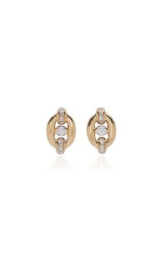 Catena 18K Yellow Gold Stud Earrings