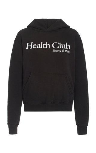 Health Club Cotton-Blend Hoodie