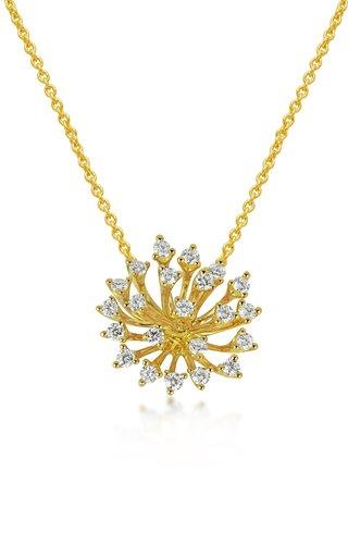 Luminus 18K Yellow Gold Diamond Necklace