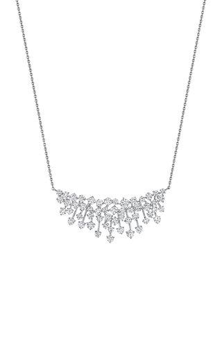 Luminus 18K White Gold Diamond Necklace