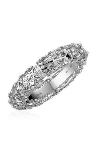 Estelar 18K White Gold Diamond Bracelet